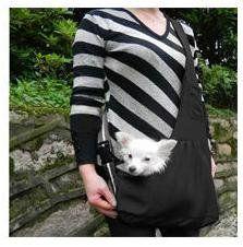 TOMTOP Pet Carrier Bag Oxford Cloth Dog Cat Carrier Single Shoulder Bag Black (S) ** Visit the image link more details.