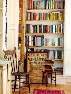 corner library: old Victorian Mill