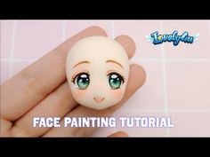 How to paint figure's face | Version3  | DIY| Clay Tutorial