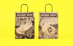Moomin Shop Packaging on Behance