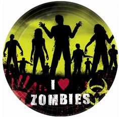 Amscan  Beware Zombies Halloween Banquet Dinner Plates >>> Want additional info? Click on the image.