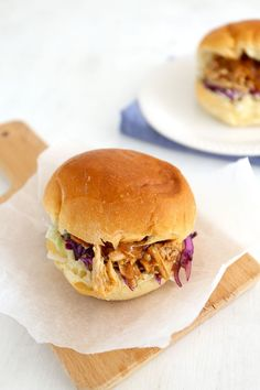 Pulled Chicken, Oven Chicken, Pulled Pork, Chicken Wrap Recipes, Brunch, Buffet, Sandwiches, Snack Recipes, Snacks