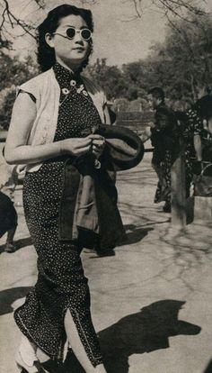 Shanghai Qipao in the 1930s