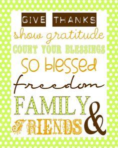Free Thanksgiving Subway Art Printable {lilluna.com} #thanksgiving