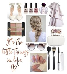 """""""🐚"""" by dilya-kadyrova ❤ liked on Polyvore featuring Lanvin, Alexander McQueen, Christian Dior, Victoria's Secret, Re-Edition, tarte, Zelens, Jimmy Choo and MAC Cosmetics"""