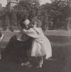 Grand Duchess Tatiana with her uncle Ernest of Hesse