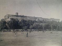 Castillo de Chapultepec, ca 1895, destaca el acueducto