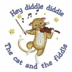Hey Diddle Diddle 05 machine embroidery designs