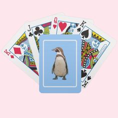 #Penguin #Playing #Cards