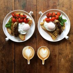 This Instagram feed serves up deliciously symmetrical breakfasts every morning - The Washington Post