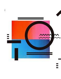illustrator Frau Grau combines sketched geometrics with organic motifs