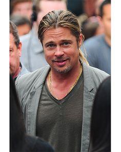 Brad And Angelina, Angelina Jolie, Brad Pitt, Henry Caville, Don Juan, Hollywood, Hippie Life, Beard Styles, Gorgeous Men
