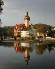 Rathaus an der Zschopau in Waldheim, Sachsen