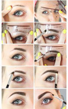 Augenbrauen pimpen