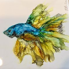 Amazing Pen and Ink Cross Hatching Masters Edition Ideas. Incredible Pen and Ink Cross Hatching Masters Edition Ideas. Alcohol Ink Tiles, Alcohol Ink Crafts, Alcohol Ink Painting, Sharpie Alcohol, Watercolor And Ink, Watercolor Painting, Watercolor Trees, Watercolor Portraits, Watercolor Landscape