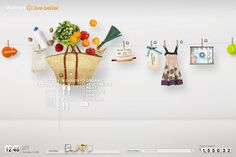 Walmart Live Better  Concept designs for pitchwork #hannahLee #interactive