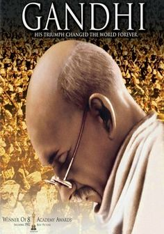 Gandhi (1982) This awe-inspiring biopic about Mahatma Gandhi -- the diminutive lawyer who stood up against British rule in India and became an international symbol of nonviolence and understanding -- brilliantly underscores the difference one person can make.