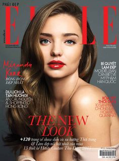 Supermodel Miranda Kerr is dazzling on the latest issue of Elle Vietnam. On the cover, Miranda is almost bare faced with just luscious eyelashes and a pair Miranda Kerr Photoshoot, Miranda Kerr Makeup, Miranda Kerr Style, Fashion Magazine Cover, Fashion Cover, Magazine Covers, Fresh Makeup Look, Makeup Looks, Elle Blogs