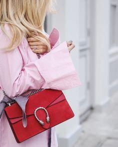 Gucci red suede 'Dionysus' bag | pinterest: @Blancazh