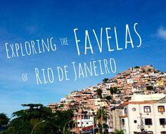 Travel Tips l Exploring the Favelas of Rio de Janeiro, Brazil l @tbproject