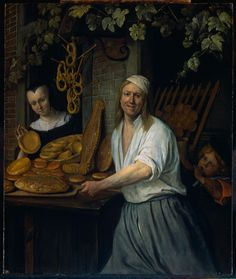 The Baker and His Wife by Jan Steen 1658   http://siftingthepast.com/2013/10/22/the-baker-and-his-wife-by-jan-steen-1658/