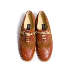 848a1662363 Oxfords Women s Brown   by goodbye folk -- The fact that these are women s  shoes