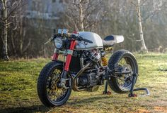 Honda CX500 GTS - Cafe Racer project by Sacha Lakic Design 2014 ©SachaLakic…