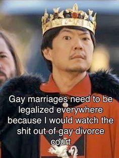 gay divorce court