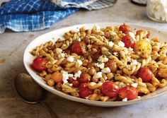 Gemelli-with-Blistered-Cherry-Tomatoes-Chickpeas-and-Smoked-Paprika