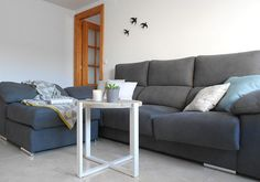 Mesa de centro estilo nórdico : vía La Garbatella