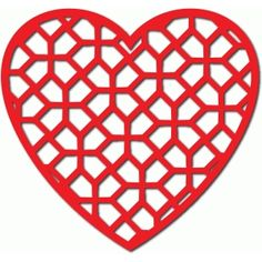 Silhouette Design Store - View Design #53897: heart lattice