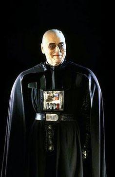 British actor Sebastian Shaw as Darth Vader in Return of the Jedi.
