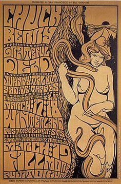 Wes Wilson concert poster