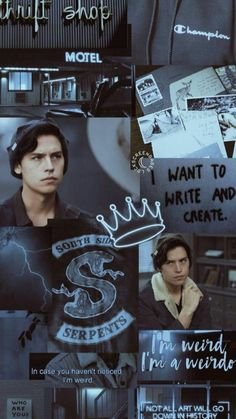 Image shared by luu. Find images and videos about riverdale and jughead on We Heart It - the app to get lost in what you love. Sprouse Cole, Cole Sprouse Jughead, Dylan Sprouse, Riverdale Tumblr, Riverdale Funny, Bughead Riverdale, Riverdale Memes, Riverdale Netflix, Wallpapers Ipad