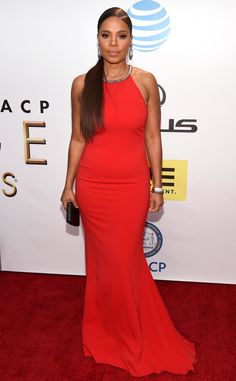 Tiffany Haddish Finally Confirms Sanaa Lathan Bit Beyoncé E! News - Entertainment Sanaa Lathan, Beyonce, Black Actresses, Red Carpet Looks, Black Carpet, Beautiful Black Women, Beautiful Females, Red Carpet Fashion, Swagg