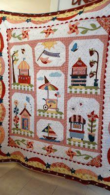 Juud's Quilts: Harriot 'Journey to now'
