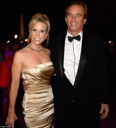 Actress Cheryl Hines, who starred opposite Larry David in Curb Your Enthusiasm, arriving at the ball in Paris with Robert Kennedy Jnr