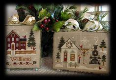 Little House Needleworks. These are so cute, I may have to make these!