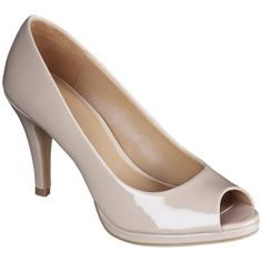 Women's Merona® Magee Peep Toe Platform Pump - Assorted Colors ($29.99)