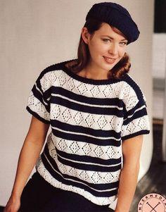 Reynolds--Mary Jane Protus--Short Sleeve Top