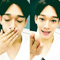 Exo relay chat- Chen's selca.