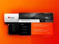 contemporary web design - Google Search