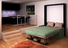 Dotto Murphy Desk Bed | Italian Murphy Beds