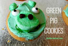 How to make a green pig cookie #recipes ad