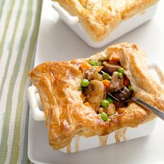 Steak and Mushroom Potpies