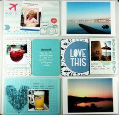 Andrine & Marens Landhandleri Pocket Scrapbooking, Scrapbook Layouts, Project Life, Studio Calico, Smash Book, Books, Projects, Cards, Travel