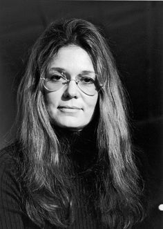 Gloria Steinem, strong, confident showed many women the way!