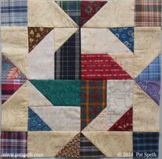 Deli Geese Project – Block #37 – Claire