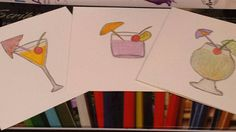 Greeting card blank card birthday card gift card art card