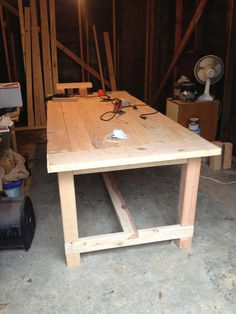 Hand-built Dining Room Table